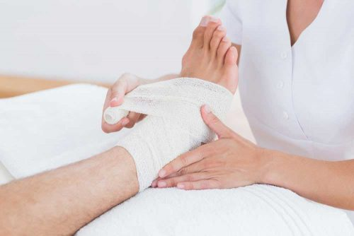 wound therapy for venous ulcers